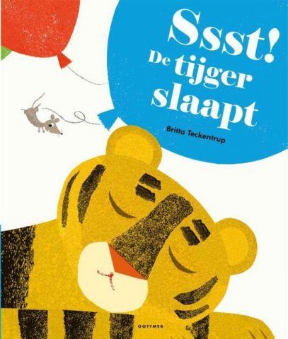 Vertelplaat: Ssst! De tijger slaapt –Britta Teckentrup ( Prentenboek van het Jaar / 2018 )