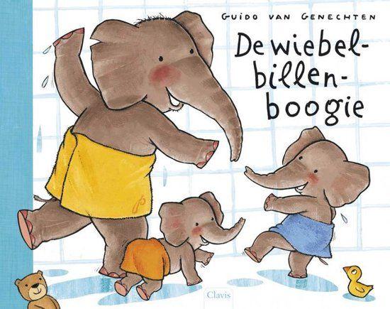 Vertelplaat: De wiebelbillenboogie – Guido Van Genechten (Prentenboek van het Jaar / 2010)