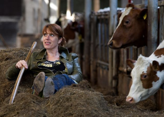 Irene van der Aart over 'Uitgemolken' in Lichtenvoordse bieb