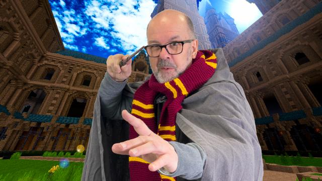 Biebbouwers Minecraft Challenge #12 - Bouw een kasteel voor Harrie Snotter!