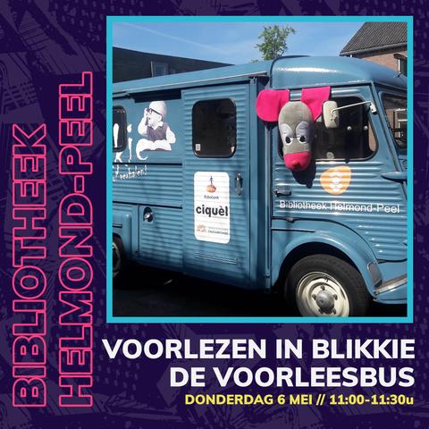 Online voorlezen vanuit Blikkie de Voorleesbus