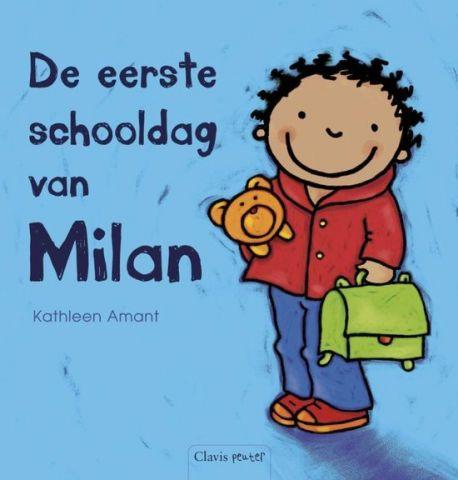 De eerste schooldag van Milan - door Kathleen Amant