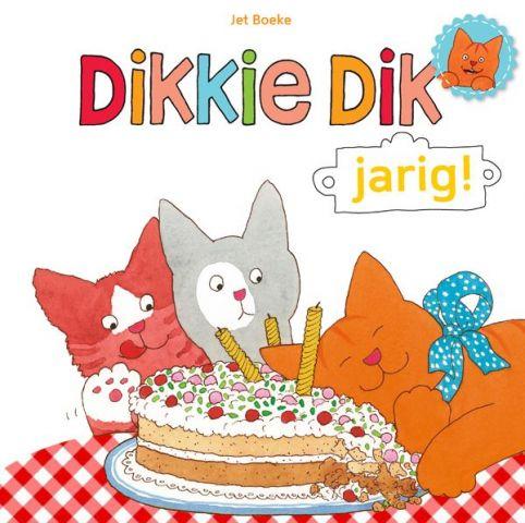 Dikkie Dik; jarig! - door Jet Boeke, Arthur van Norden