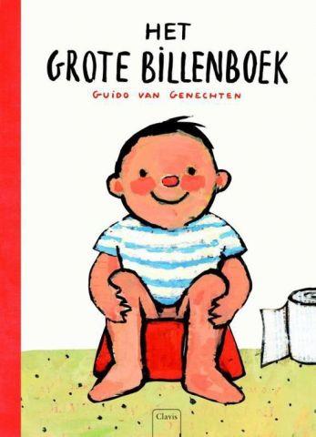 Het grote billen-boek - door Guido van Genechten