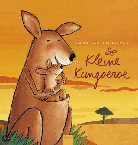 Kleine kangoeroe - door Guido van Genechten