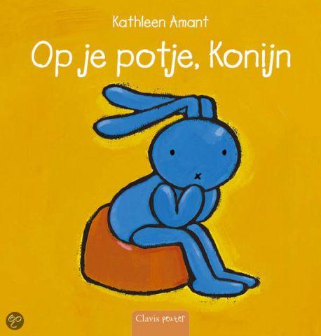 Op je potje, Konijn  - door Kathleen Amant