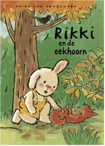 Rikki en de eekhoorn - door Guido van Genechten