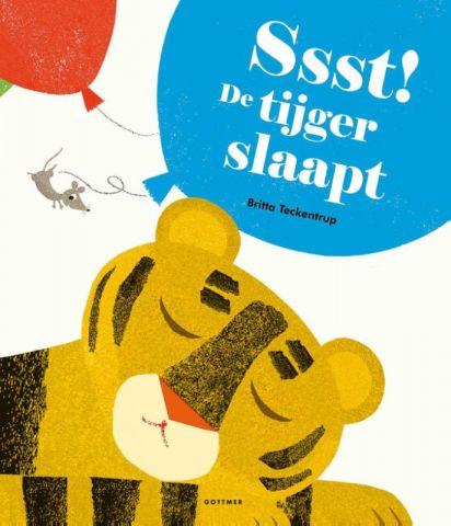 Ssst! De tijger slaapt! - door Britta Teckentrup