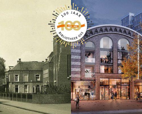 Talkshow 100 jaar Bibliotheek Oss