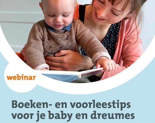 Webinar 'Boeken- en voorleestips voor je baby en dreumes'