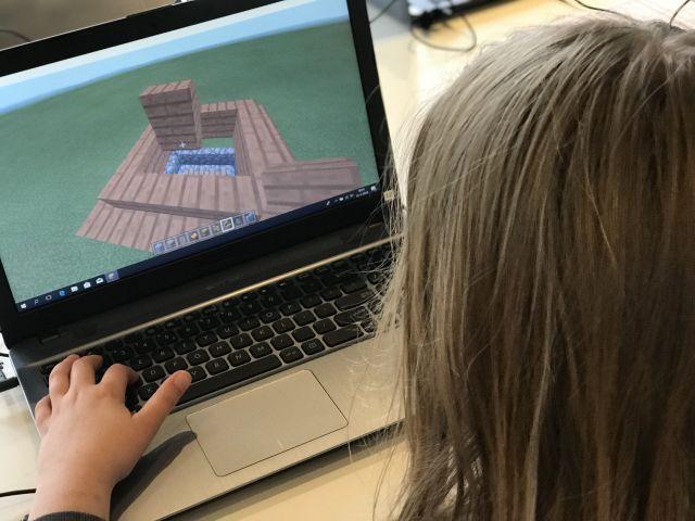 Bouw mee in Minecraft! 9-12 jaar