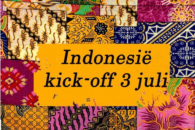 Kick-Off van het Festival Indonesië