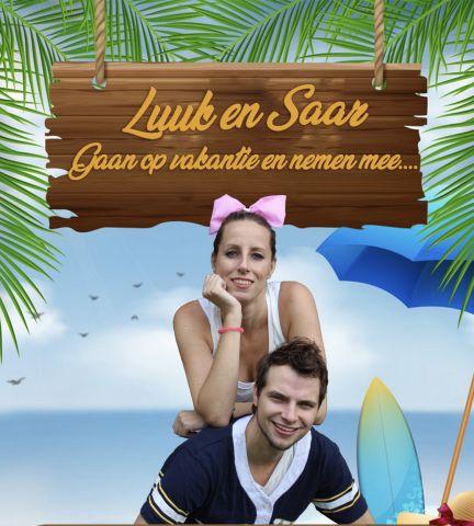 Luuk & Saar gaan op vakantie   6-10 jr