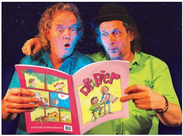 De Avonturen Van Dik & Pier - voorstelling Kinderboekenweek 2021