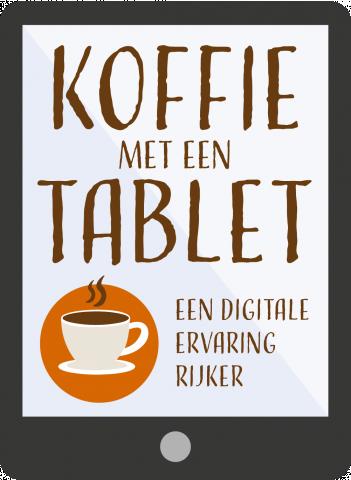 Koffie met een Tablet - videobellen