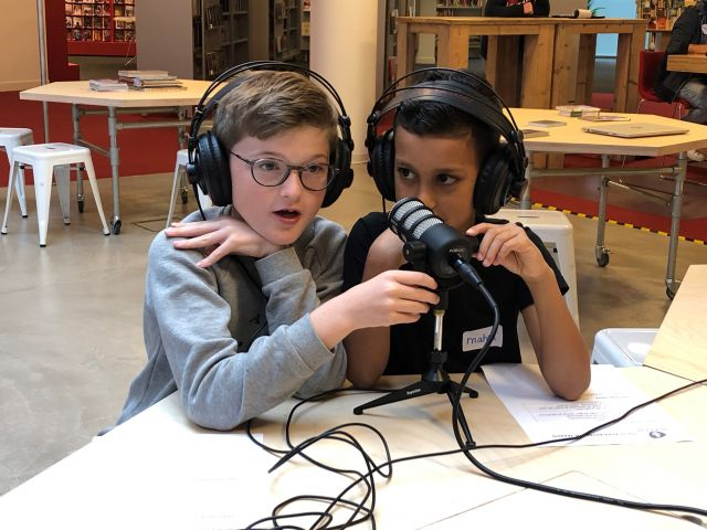 Techlab Summerschool: Radio & Podcast maken
