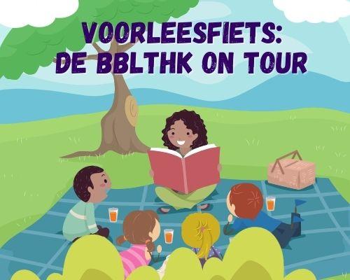 Voorleesfiets: de bblthk on tour