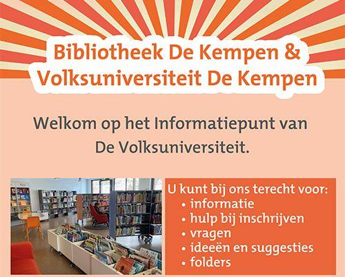 Informatiepunt Volksuniversiteit De Kempen