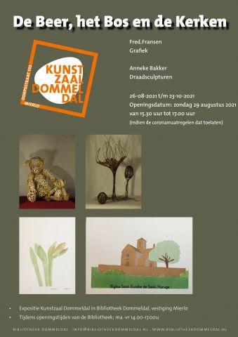 Kunstzaal Dommeldal: De Beer, het Bos en de Kerken