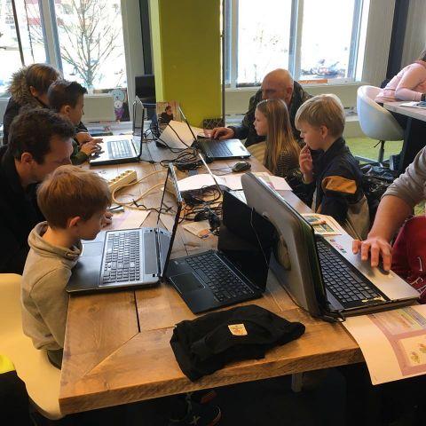Leer programmeren bij CoderDojo