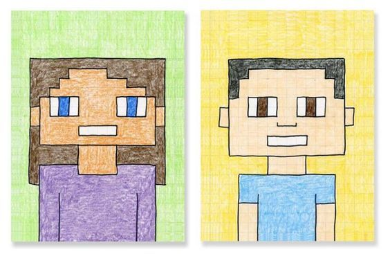 Minecraft Challenge - Maak een zelfportret in Minecraft!