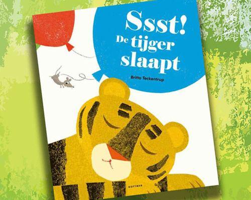 Ssst! De tijger slaapt -