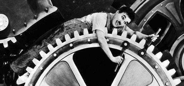 Maand van de Geschiedenis: Modern times van Charlie Chaplin