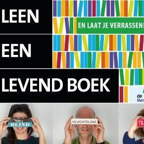 """De Mensenbieb """"In gesprek met levende boeken"""""""