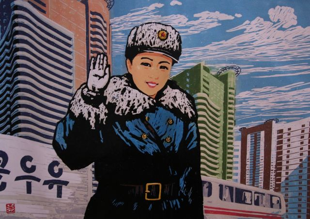 Noord Korea; de verbeelde werkelijkheid