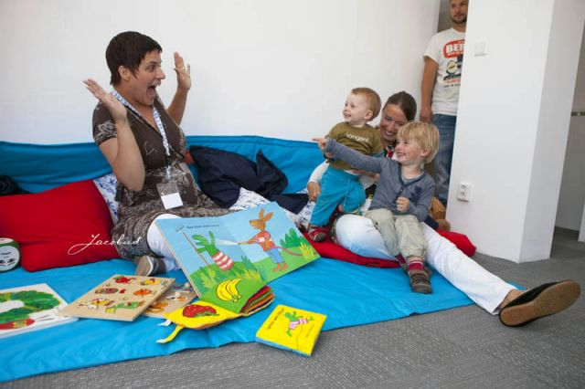 Workshop Wapperkids, voorlezen met gebaren