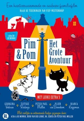Pim en Pom; het grote avontuur - Mies Boujuys