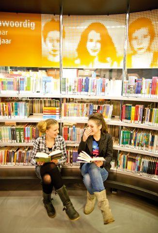 Bibliotheekbezoek met het spel MediaQuest