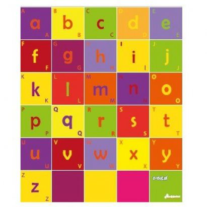 Bee-Bot mat - Letters - letters leren en woorden spellen
