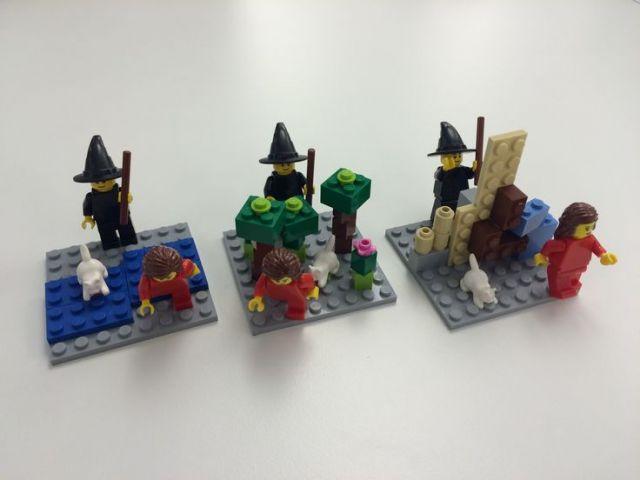 Maak je eigen LEGO® strip