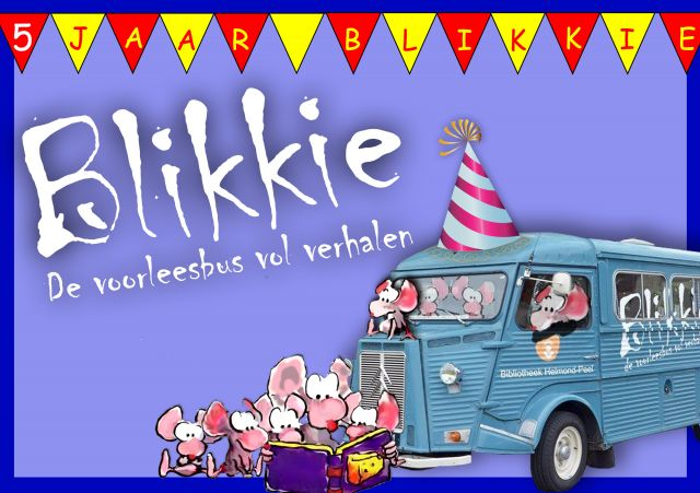 Feestmiddag Blikkie de Voorleesbus