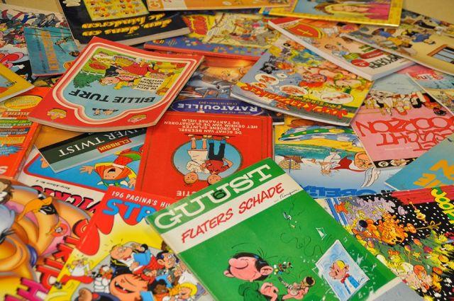 Stripboeken in de klas Brummen|Voorst