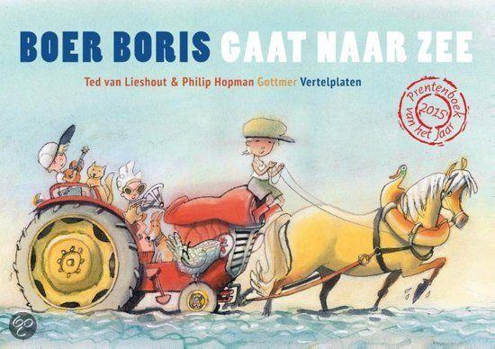 Kamishibai: Boer Boris gaat naar zee  - Naar het boek van Ted van Lieshout & Philip Hopman