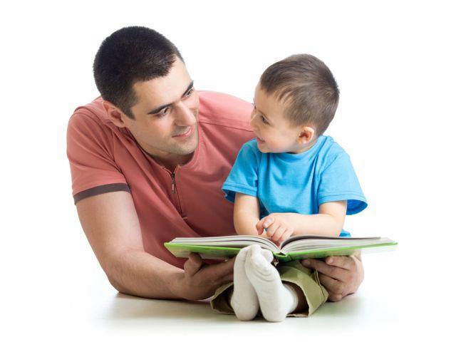 Vaders lezen voor