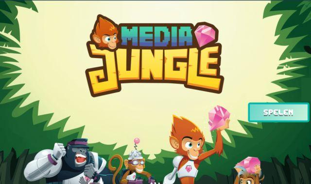 MediaJungle - Lezen en een spel over mediagebruik