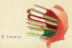De ongelooflijk bijzondere boekeneter - van Oliver Jeffers