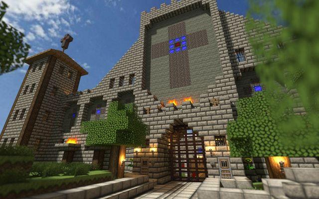 Minecraft bouw-wedstrijd