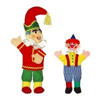 Kinderboekenweek Poppenkastvoorstelling 'Koning of clown?'