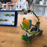 Maakplaats: LEGO WeDo Bloemen en bijen op | 7-9 jr.