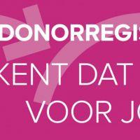 Voorlichting Donorregistratie