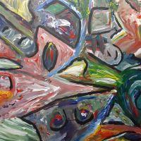 Inktpotjes en schilderijen