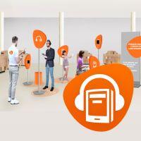 De app-tour van de online Bibliotheek