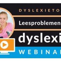 Webinar: Leesproblemen en dyslexie in het Basisonderwijs