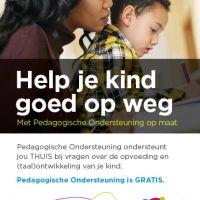 Inloopspreekuur: Pedagogische ondersteuning