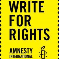Schrijf mee met Amnesty Someren!