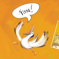 Online Leesclub: Een vreemde vogel in de klas